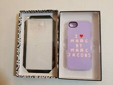 Marc By Marc Jacobs iPhone 5 and 5S case MBMJ racing black and white new