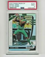 2020 Panini Prizm Draft Picks Denzel Mims Silver #147 Rookie RC PSA 9 Mint