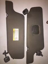 FORD F150 F-150 2000 2001 2002 SUNVISOR SUN VISOR RIGHT & LEFT  SIDE GREY OEM