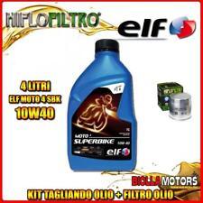KIT TAGLIANDO 4LT OLIO ELF MOTO 4 SBK 10W40 BMW R1150 R 1150CC 2001-2006 + FILTR