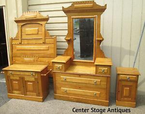 Oak Antique Beds Bedroom Sets 1900 1950 For Sale Ebay
