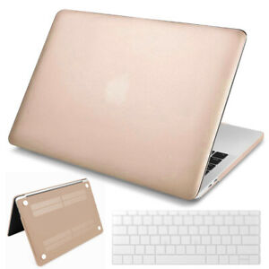 Rubberized Hard Case Shell+Keyboard Cover for MacBook Pro 13 15 16 Air M1 Touch