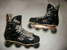 Mission Proto Vi Roller Blades Hockey Skates Adult Size 13 D Great Shape Top End