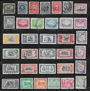 HICK GIRL- BEAUTIFUL USED BOLIVIA STAMPS     VARIOUS ISSUES        T111