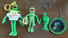 Wendy's Muppet's From Space Kermit the Frog-Bendable Frog-Hallmark-Finger Puppet