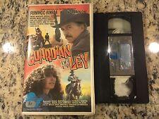 GUARDIAN DE LA LEY RARE CLAMSHELL VHS 1992 SPANISH MEXI ACTION FERNANDO ALMADA!