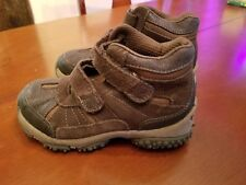 Boys Himalayan Stride Rite leather boots shoes  size 11.5 wide
