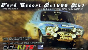Kit para montar 1/24 Ford Escort RS1600 MK1 1973 Daily Mirror RAC Belkits