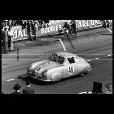 Photo A.013020 PORSCHE 356 SL VEUILLET-MOUCHE 24 HEURES DU MANS 1951 LE MANS