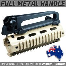 M4A1 SCAR NERF GEL BALL GUN ALLOY Full Metal Carry Handle Detachable +Dual SIGHT