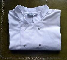 jacket WHITES CHEF CLOTHING LARGE catering kitchen cooking white long sleeve