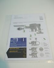 Dyson DC34 User Manual Owners Guide Operating Manual Instruction Pack New