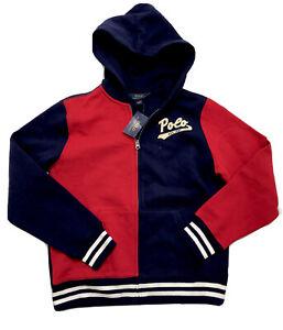 Polo Ralph Lauren Boys Multicolor Hoodie Sweatshirt size 14-16 NWT Orig.$65