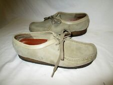 Clarks Originals Wallabees Comfort Lace Up Oxfords Tan Leather Women 9.5 M