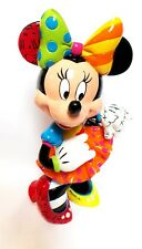 "Disney Britto Special Anniversary Minnie Mouse Figurine (6001011) NEW - 8"" tall"
