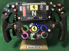 Vettel Raikkonen réplica de tamaño completo FS 71H Volante Ferrari 2018_F1