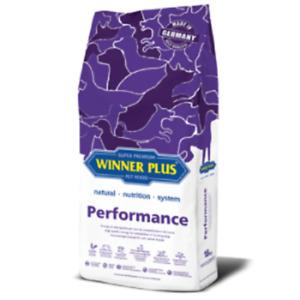 Winner Plus Performance 18kg, ideal für aktive Sport-, Leistung u. Arbeitshunde