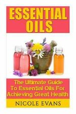 Essential Oils : Essential Oil Recipes for Stress Relief, Pain Relief, and...