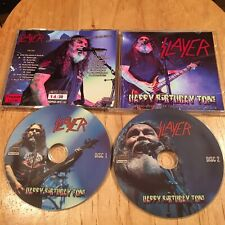 Slayer - Happy Birthday Tom 2CD Japan press metallica exodus megadeth sadus