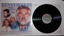 LP - KENNY ROGERS DUETS CON KIM CARNES, SHEENA EASTON & DOTTIE WEST - VINILE