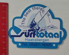 Aufkleber/Sticker: The best there is - Surftotaal Haaksbergen (18021745)