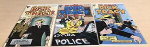 THE ORIGINAL DICK TRACY #3,4,5 (8.5-9.2) 1991/Gladstone Comics