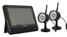Digital Wireless DVR Security System with Two Night Vision Cameras