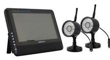 Sistema De Seguridad Dvr Wireless Digital con dos cámaras de visión nocturna y tarjeta 32GB