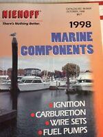 Vintage 1998 Niehoff Marine Components Ignition Parts Catalog No. 98-Mar