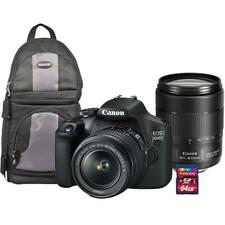 Canon EOS 2000D DSLR 24.1MP Camera with 18-55mm & EF-S 18-135mm IS USM Lens Kit