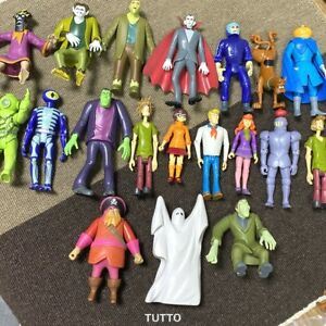 Lots Scooby-Doo Wolfman Haunted Dracula Phantom Shaggy Dog Monsters 5'' Figure