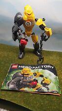 Lego 6200 Hero Factory Heroes Evo + notice complet de 2012 -CN182