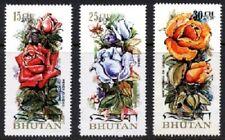 1973 Bhutan - Roses (3) MUH