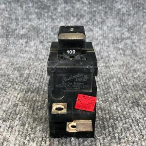 Pushmatic W2100 Circuit Breaker 100 Amp 2 Pole 120/240 VAC