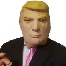 Uomo Donald Trump MASCHERA PER TUTTA LA TESTA USA President NUOVO