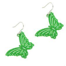 ORIGINAL THY Earrings FLUO Female Butterfly - FLU1V
