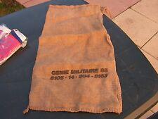sac militaire   toile de jutes  transmisssion  ( cab)