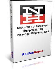 New Haven Passenger Car Diagrams, Equipment Description, PDF on CD, RailfanDepot