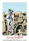 Jean Dubuffet Inspection Of The Territory Serigraph Edition of 1000 19.5x26.75