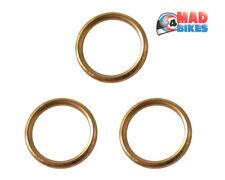 YAMAHA MT-09 cuivre joints échappement simple x 3 MT09 toutes les années