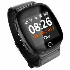 Senior Adults Smart GPS Tracker Watch. Auto Dial in Emergency, Fall, SOS Alarm