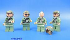 LEGO FIGURINE STAR WARS 75023 / ENDOR REBEL / 4 PIÈCES