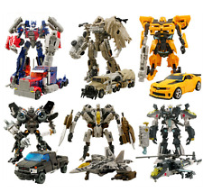 Transformers Action Figures Toys Optimus Prime Ironhide Bumble Bee Robots