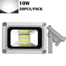 New listing 20X 10W Cool White Led Flood Light Outdoor Garden Security Spot Lamp Waterproof
