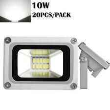 20X 10W Cool White LED Flood Light Outdoor Garden Security Spot Lamp Waterproof