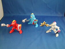 Fisher Price Great Adventure Color Guard Knight Blue Red Silver set