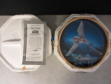 Star Wars Imperial Shuttle Space Vehicles ~ Hamilton Plate ~ 1995 Coa #3222D