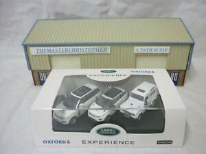 Oxford Diecast/Modern Off-Road 1:76th Land Rover Experience Set 76SET59