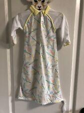 Vintage Baby Dior Unisex Newborn Layette Sleepgown Yellow