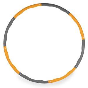 Weighted Hula Hoop by Phoenix Fitness - 1.1 Kg Foam Ring 96cm Wave Groove Hoola